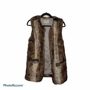 Fauf Fur Lucky brand vest